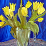 yellow tulip from picasa